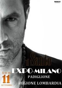 locandina santo EXPO